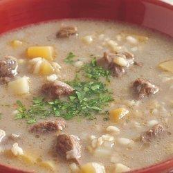 Barley Beef Vegetable Soup
