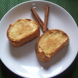 Baked Cinnamon Sugar French Toast