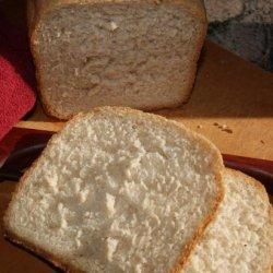 Bread Machine Buttermilk and Honey Wheat Bread
