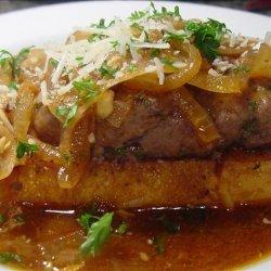 French Onion Salisbury Steak recipe