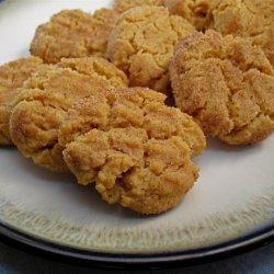 No Flour Peanut Butter Cookies