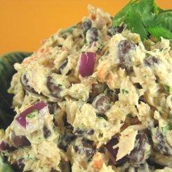 Black Bean Tuna Salad