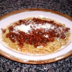 Ev's Greek Spaghetti Dinner