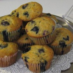 The Best Blueberry Banana Muffins