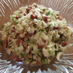Cole Slaw With Beans and Bacon