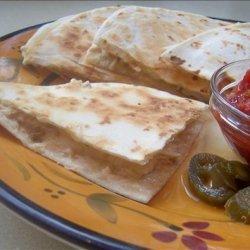 Grilled Chipotle-Chicken Quesadillas