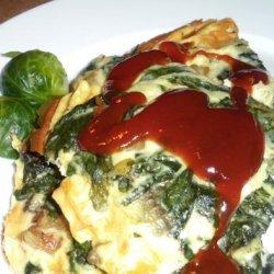 Fresh Spinach Mushroom Frittata