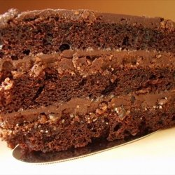 Shotts Fudgy Chocolate Layer Cake