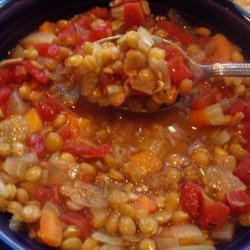 Lentil Soup (truly good and easy - eat your lentils!)