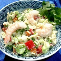 Orzo Shrimp Salad