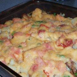 Ham & Cauliflower Casserole