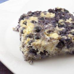 Blueberries n' Cheese Squares