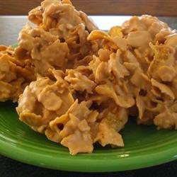 Frosted Corn Flake Cereal Clusters recipe