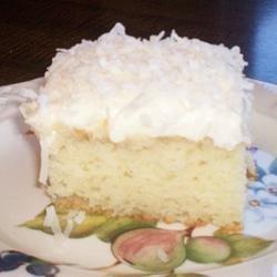 Coconut Cream Cake II