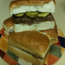 Mock Sliders (White Castles)