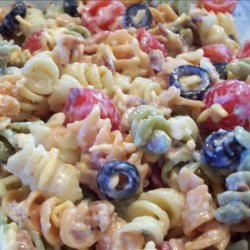 Ranch Pasta Salad With Bacon recipe