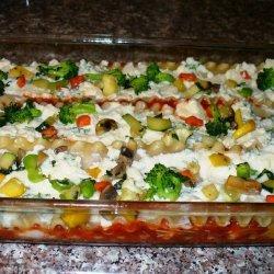 Vegetable Lasagna Without the Lasagna