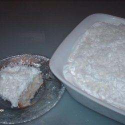 Coconut Refrigerator Cake recipe