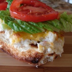 Queen Bs Jersey Crab Burger recipe