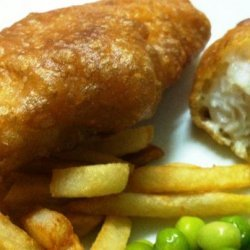 Crispy Batter for Fish & Chips