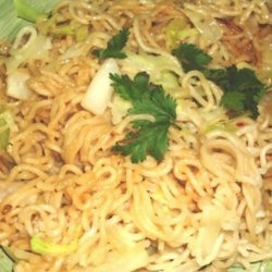 Sesame Noodles With Napa Cabbage