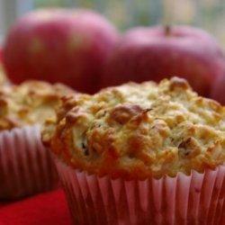 Oatmeal Apple Nut Muffins