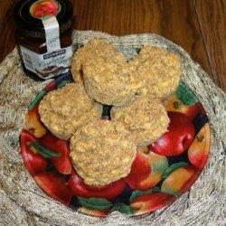 Orange Bran Flax Muffins recipe