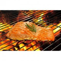 Marinated Salmon Steaks