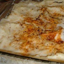 Thanksgiving Rush Mashed Potato Casserole