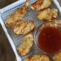 Beer-Batter Chicken Fingers