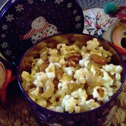 Christmas Tin  Popcorn Snack