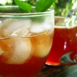 Iced Tea With Grenadine