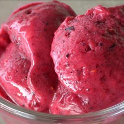 Fruit Frozen Yogurt recipe