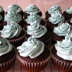 Vegan Dark Chocolate Cupcakes With Frosting