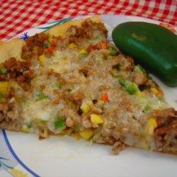 Tejas Chipotle Pizza
