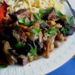 Crock Pot Beef Burgundy Stew