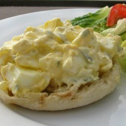 Open-Faced Egg Salad Sandwiches