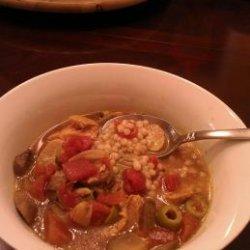 Crock Pot Artichoke, Chicken and Olives