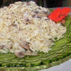 Swiss Mushroom Orzo