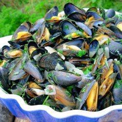 Ahoy There!  Moules Marinières - French Sailor's Mussels recipe