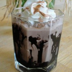 Chocolate-Almond Coffee Frappe