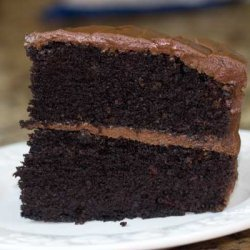 Mom's Chocolate Mayonnaise Cake with Chocolate Deluxe Frosting