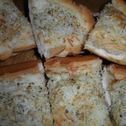 Quick & Easy Italian Cheese Bread