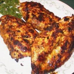 Chicken Breasts in Curry-Honey-Mustard Sauce