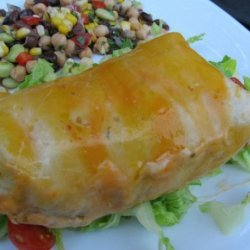Nif's Healthy Baked Beef Burritos