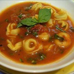Tomato-Basil Tortellini Soup