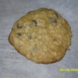 Chocolate Chip Oat Cookies (Millionaire Cookies) recipe