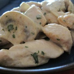 Quick and Easy Chicken in Cream Sauce