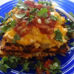 Huevos Rancheros Potato Waffles #5FIX recipe