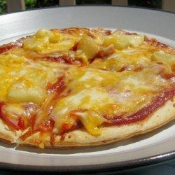 Sara's Hawaiian Pizza